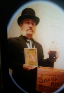 Nobody has embraced Binghamton history like John Darrow! Shown here as Dr. S. Andral Kilmer!