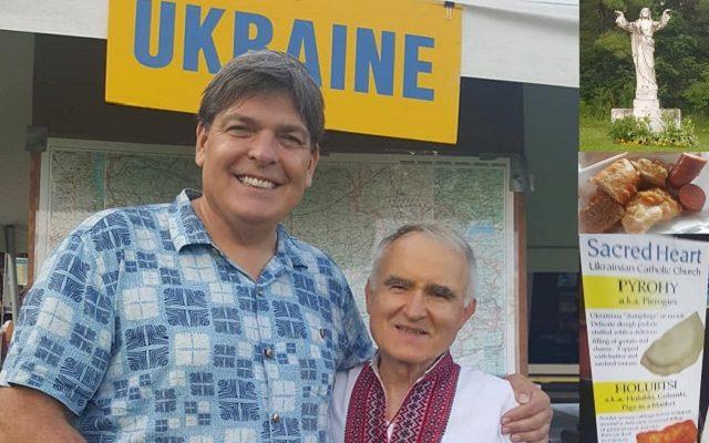 Celebrating Sacred Heart's Ukrainian Festival with Lubormyr the Historian!!!