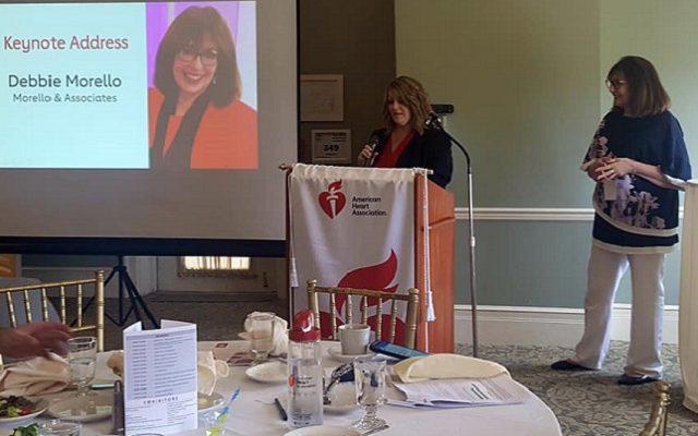 America Heart Association's Wellness Summit Features Keynote Speaker Debbie Morello!!!